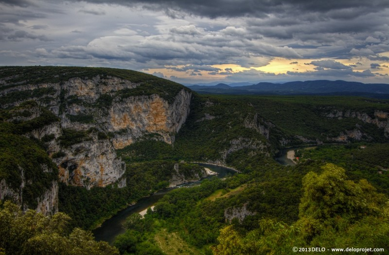 Movie with gopro of Kayaking in Gorges de l'Ardeche