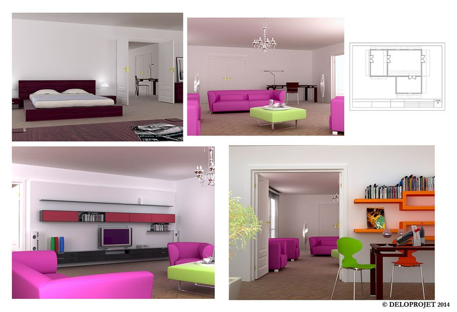 Interior design deloprojet