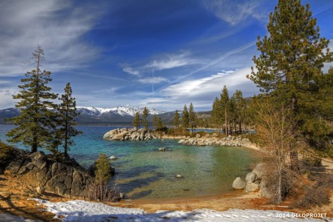 "Movie ""Pine Cone"" at Lake Tahoe California"