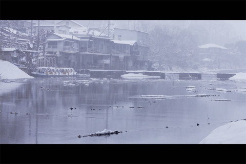 snow storm in Japan, a pleasure for photographer