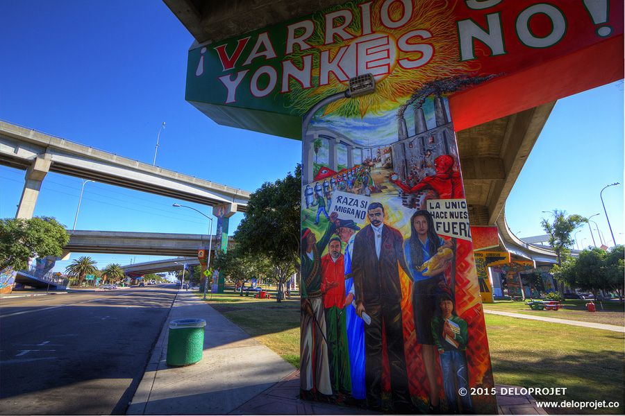 Deloprojet Photography Of Chicano Park In San Diego