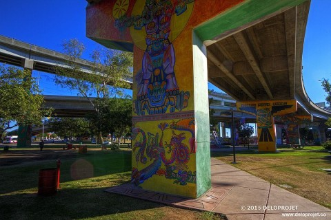 Photography of Chicano Park San Diego