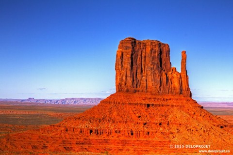 Evening at Monument Valley