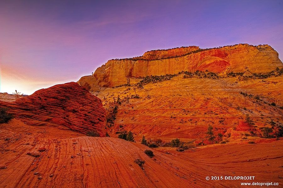 sunset-in-Zion-Canyon-07