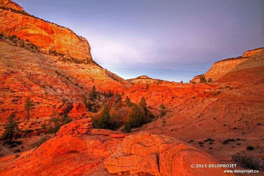 sunset-in-Zion-Canyon-08