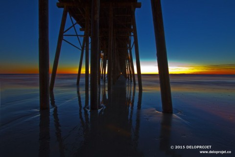 Photographs Sunset at Oceanside pier San Diego