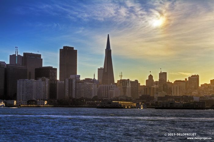 Deloprojet Ferry From Sausalito To San Francisco And Sunset