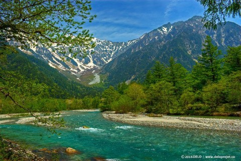 Kamikochi, most spectacular scenery of Japan.