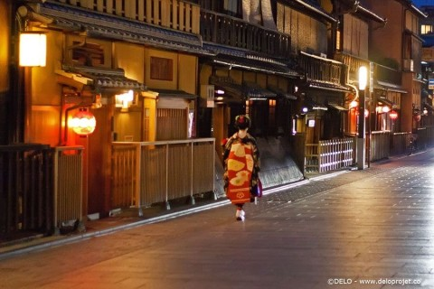 Take your camera and explore Kyoto in the night