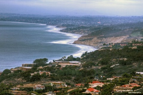View of La Jolla San Diego from Mount Soledad