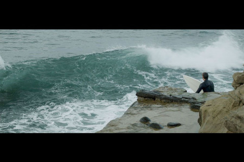 Movie of surf at Sunset Cliffs, San Diego, filmed with a BMPCC .