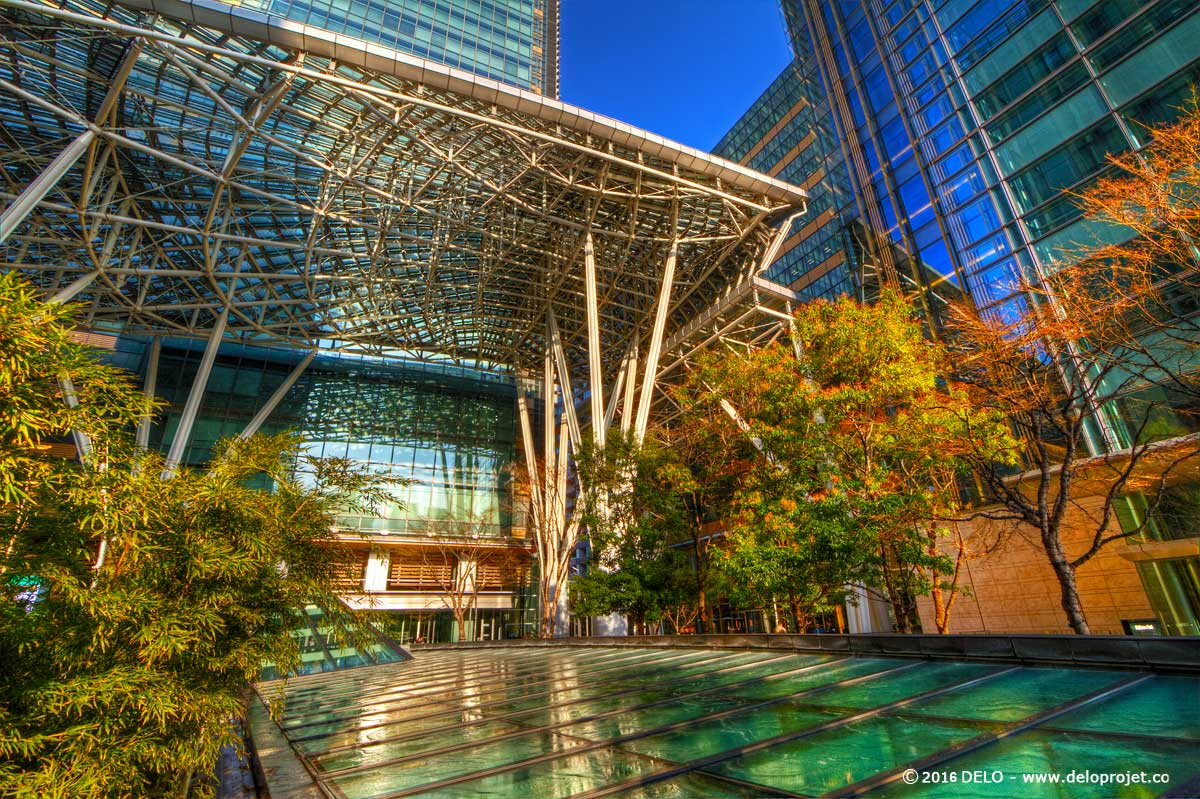Deloprojet complexes architecture in tokyo midtown for Architecture tokyo