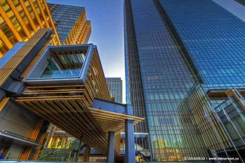 Complexes architecture in Tokyo Midtown