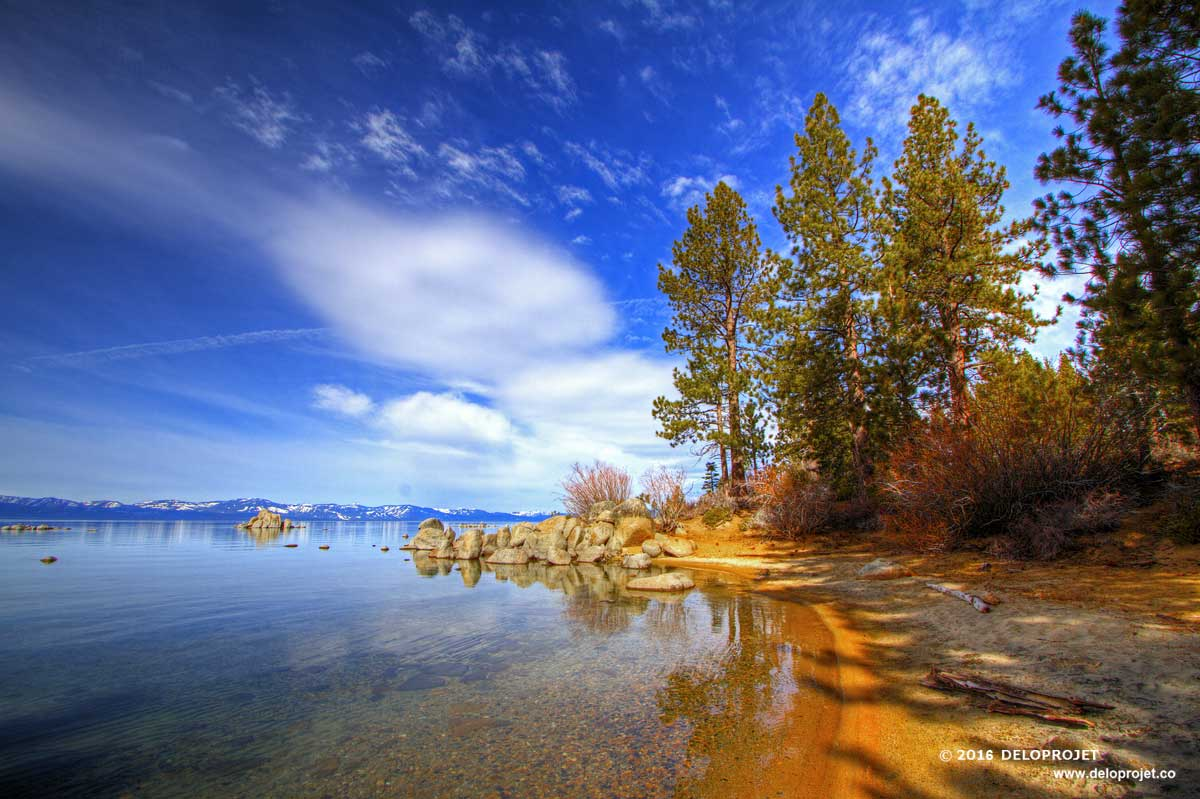 Deloprojet Enjoy The Beautiful Scenery Of Lake Tahoe