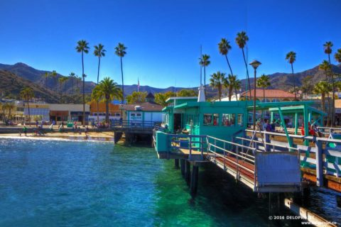 Catalina Island Avalon gallery of photographs