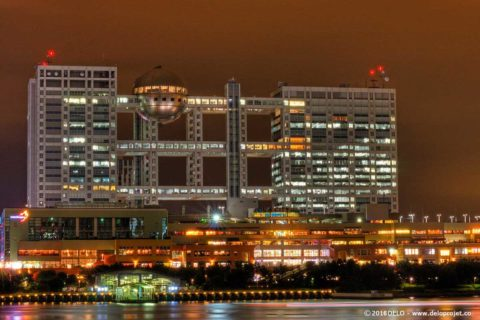 Odaiba Tokyo an incredible spot for long exposure night photography