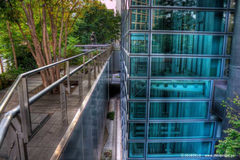Shiodome Tokyo architecture photography HDR