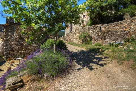 Le Pouget village in the heart of the Cévennes
