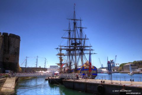 Photography of the maritime festival Brest 2016  part 1