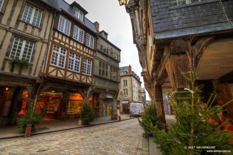 Dinan a preserved medieval heritage