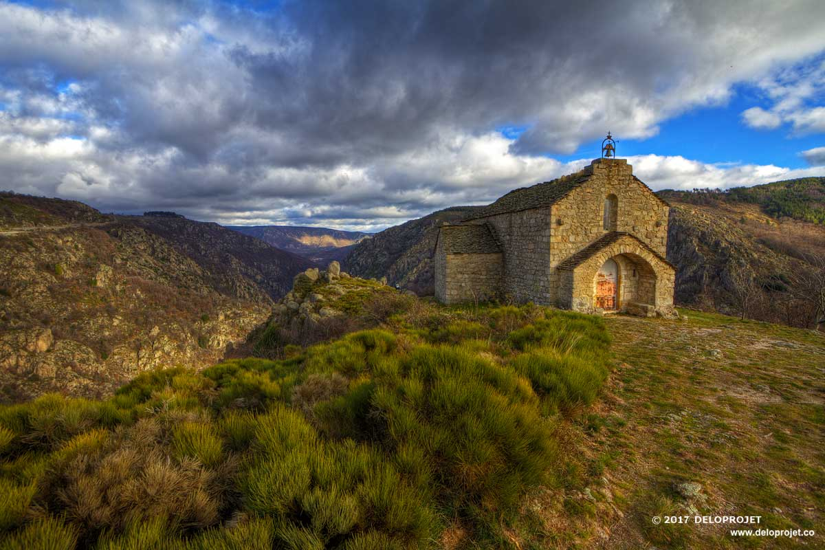 Chapelle Saint Loup Villefort photography portfolio
