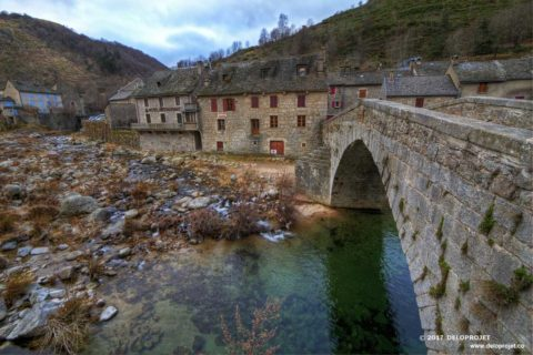 Photographs of the village of Pont de Montvert in the department of Lozère