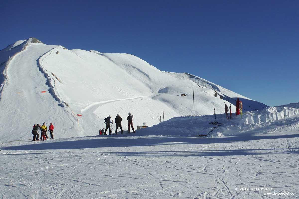 A summary of a ski holiday in the Maurienne valley in France