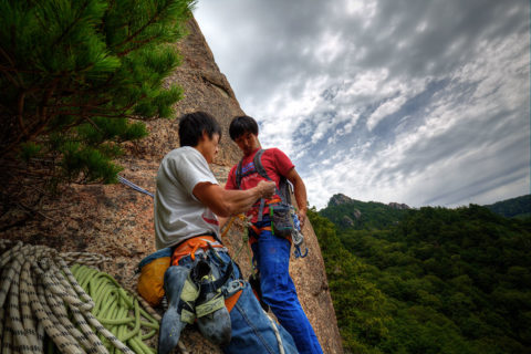Shooting rock climbing at KanmanBoron Mizugaki